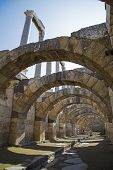 Agora Of Smyrna With Columns From 4Th Century Bc Izmir Turkey 2014
