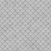Gray Shell Tiles Pattern Repeat Background