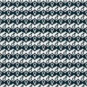 Blue And White Male And Female Gender Symbol Repeat Pattern Background