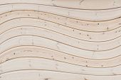 Wavy, Wooden Background