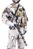 Bearded Special Warfare Operator