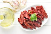 sun dried tomatoes in bowl