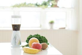 picture of blender  - Multiple purpose blender machine great for blending foods in the kitchen - JPG