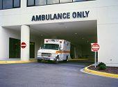 Ambulance at ER