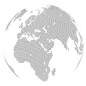 pic of mater  - Abstract dotted globe - JPG