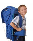 Hiking Boy  poster