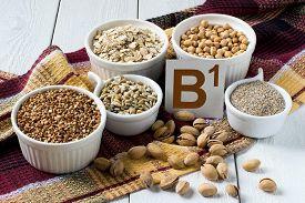 image of buckwheat  - Foods rich in vitamin B1 - JPG