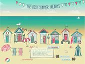 image of beach hut  - Beach Huts  - JPG