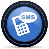 image of sms  - sms icon phone sign