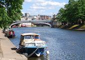Vista de cartão postal de York
