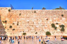 image of israel people  - JERUSALEM ISRAEL July 13 - JPG
