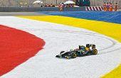 Race Of Formula 1 Gp, April 8 2011 In Sepang, Malaysia. Jarno Trulli, Team Lotus