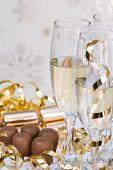 Champagne & chocolates for Christmas