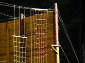 Climbing Wall And Ropes