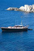 Boat At Capo Testa, Sardinia