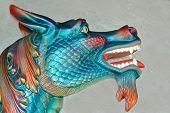Blue China Dragon
