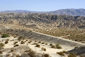 Rugged terrain of the Indio Hills