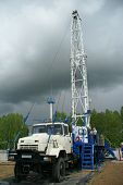 Drilling Rig, oil industry
