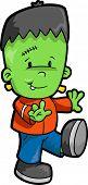 Ilustração do vetor de Frankenstein