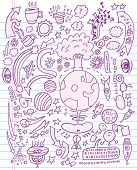 Doodle Sketch Vector Illustration