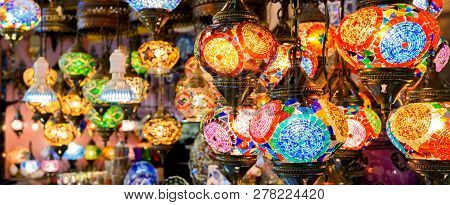 Stained Glass Lamps In Grand
