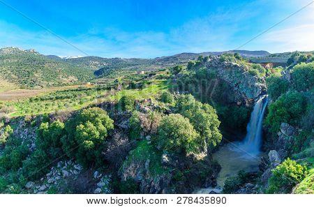 View Of The Saar Waterfall