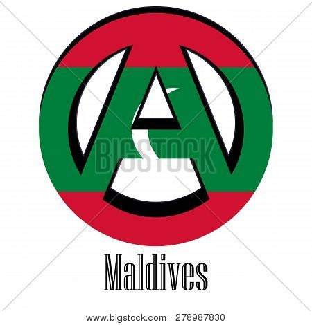 Flag Of Maldives Of The