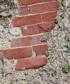 Brick In Sand