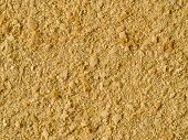 Nutritional Yeast Background. Nutritional Inactive Yeast Top View. Copy Space. Nutritional Yeast Is  poster
