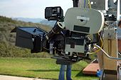 35 mm movie camera