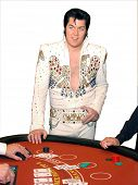 Las Vegas Blackjack Game With Elvis Presley Impersonator Brendan Paul Http://www.bestelvis.com