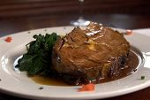 Prime Rib and Spinach