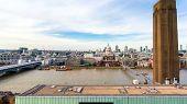 London Skyline - Aerial View Of London Skyline.. poster