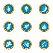 Avoid Icons Set. Flat Set Of 9 Avoid Icons For Web Isolated On White Background poster