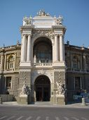 Opera House In Odessa, Ukraine.