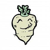 happy turnip cartoon