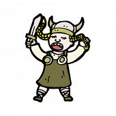 pic of valkyrie  - Valkyrie cartoon - JPG