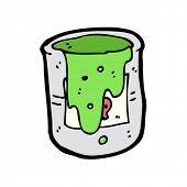 toxic waste cartoon