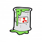 spilled toxic waste cartoon
