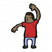karate chop man cartoon