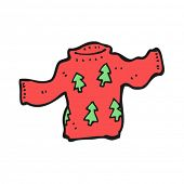 christmas jumper cartoon