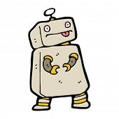 boxy robot cartoon
