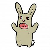 scary bunny cartoon