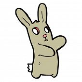 spooky rabbit cartoon