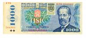 1000 Koruna Bill Of Slovakia, 1985