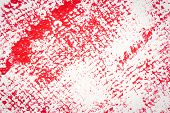 Red Abstract Spotted Acrylic Art Background. Color Texture. Fragment Of Artwork. Spots Of Paint.mode poster