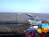 Birnbeck Pier  Spring Tides 2008
