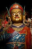 stock photo of guru  - Statue of Buddhist guru Padmasambhava  - JPG