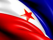 image of yugoslavia  - Flag of Yugoslavia - JPG