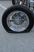 Street Rod Flat Tire